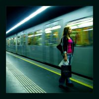 In The Subway Again by yuckfou