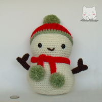 Snowman by GoldenDestiny