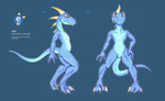 e621 char design / anatomy sheet by darkdoomer