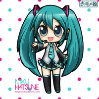 Vocaloid - Miku Hatsune by Akage-no-Hime