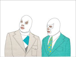 Luchadores by PredatorVision