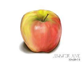 Apple by Jenneliz