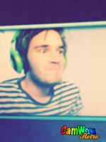 Pewds funny face. by Wolf-Angel-whitewing