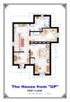 The House from UP - First Floor Floorplan by nikneuk