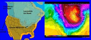 2014 Polar Vortex Compared to Last Glaciation by Kajm