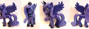 Princess Luna 6inch Figure by CosplayPropMaster