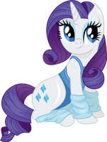 Rarity in legwarmers by CloudyGlow