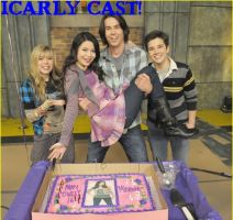 icarly cast by Rhino1lover