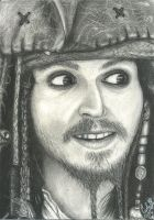 Captain Jack Sparrow by carla-ng