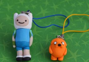 clay finn and jake by hellocuteness