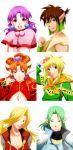GRANDIA Character Bust up illustrations2 by mievol3333