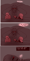 their lullaby (underfell) by Bunnymuse