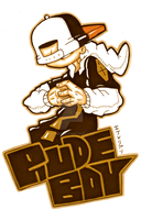 Rude Boy Logo by AVN88