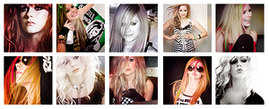 10 icons of avril lavigne. by MyloveRobsten