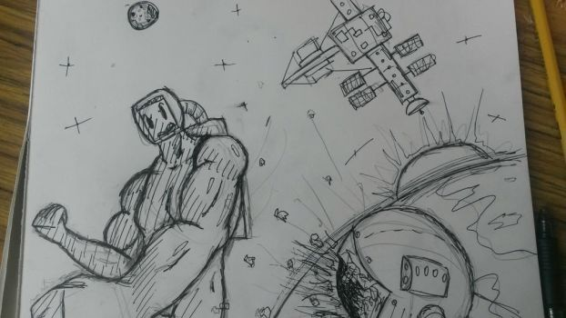 Junk Doodles: Fist fights in space by 2Octaves