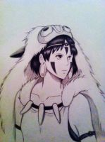 Princess Mononoke by Itzel-19