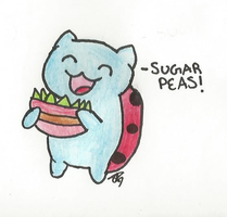 Catbug: Sugar Peas by Blade-Of-Ash