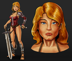 Game Character Design by dadich