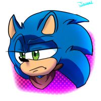 Sonic Boom  Coloring test!! by PrincessJey