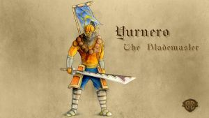 Yurnero the Blademaster by bozwolfbros