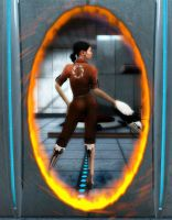 Chell by fuperman