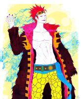 Eustass Kid by Vulgarism