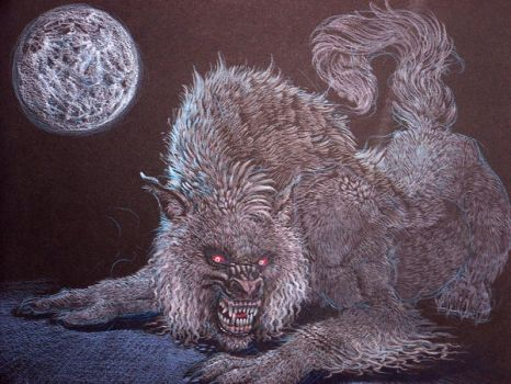 lycanthrope by atomsanddust