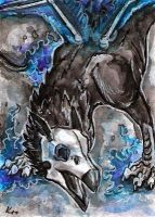 aceo Nevermore 2 by Kirsch-vanderWit