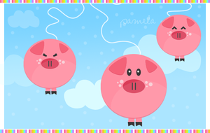 flying pigs by lorepocket