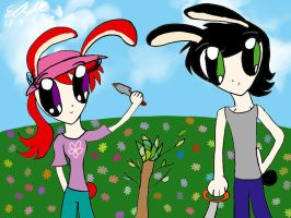 Easter 2011 and Earth Day by erisama