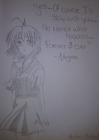 Nagisa from Clannad by anothermichaudartist