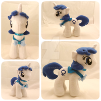 OC Sailor Mercury My Little Pony Plush by Aleeart7