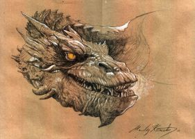 Smaug the Golden by VIGLED