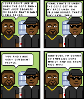 Ice Cube and Eazy E by rejecticon