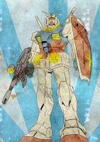 the old gundam by tuankacang