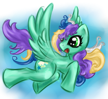 MLP OC: QuickStar... by LittleOcean