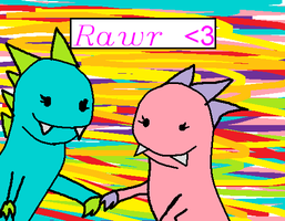 Rawr :for ariel: by pink-pixie-dust