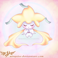 PKM - Jirachi :Make a wish by Wingsie