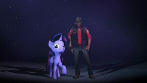 Twilight And Sniper Wallaper by chanceH96