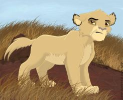 Dexter: Little smilodon by Loretta91