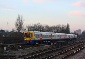 Evening Overground by ZCochrane
