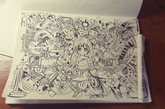 Doodle Art is Imaginary! by demo4224