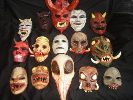 2009-2010 Halloween Mask by bungot