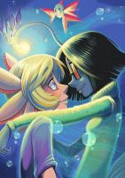 Newmans love by Fluro-Knife
