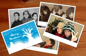 Ohama Family Christmas Collage by lilaichee