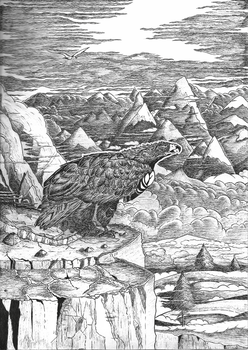 .: The Lord of Eagles (Middle Earth) by DyMaxter
