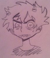 Karkat Vantas Sketch by Cheezit1x1