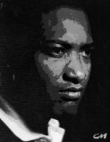 Sam Cooke by Stencils-by-Chase