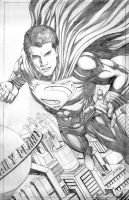 MAN OF STEEL by johnbecaro