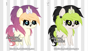 OPEN Pixel Pony Adoptables by LinaLeeL